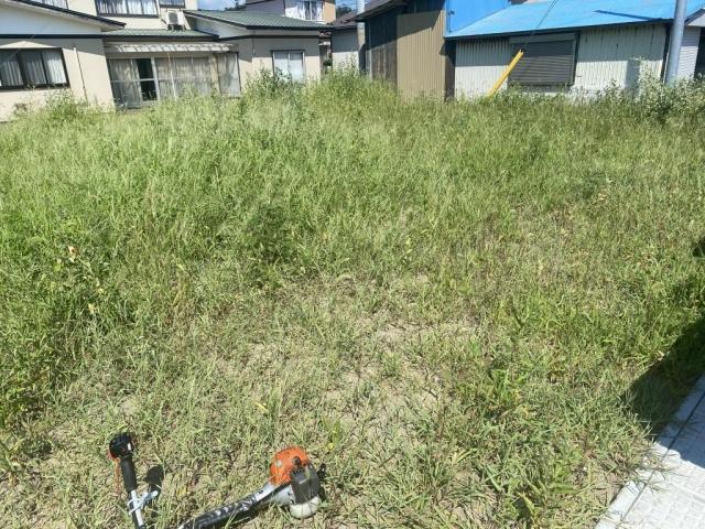 草刈り作業!由利本荘市